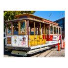 San Francisco California Trolley Car Postcard