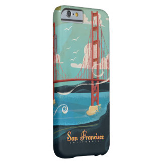 San Francisco California USA Travel poster Barely There iPhone 6 Case