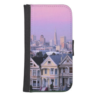 San Francisco, California. View of Victorian Samsung S4 Wallet Case