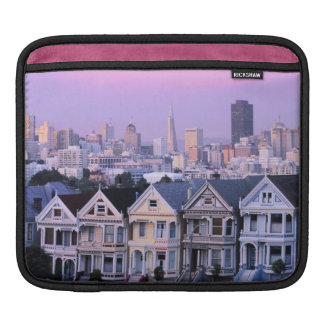 San Francisco, California. View of Victorian Sleeve For iPads