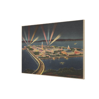 San Francisco, CATreasure Island at Intl Expo Gallery Wrapped Canvas