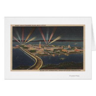 San Francisco, CATreasure Island at Intl Expo Greeting Card