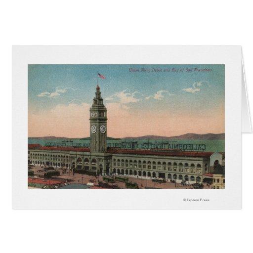 San Francisco, CAUnion Ferry Terminal Building Greeting Card