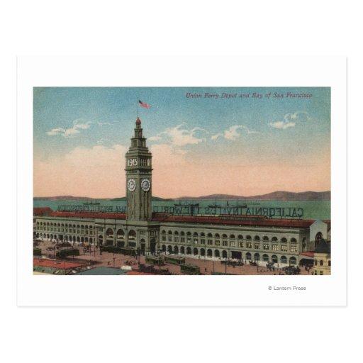San Francisco, CAUnion Ferry Terminal Building Postcard