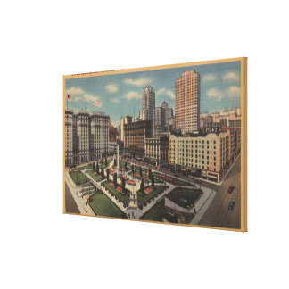 San Francisco, CAUnion Square View Canvas Print