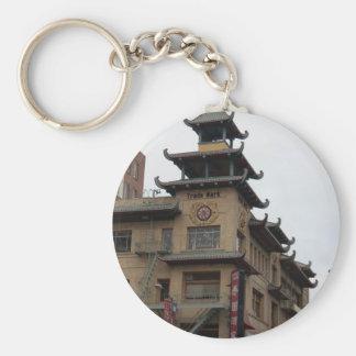 San Francisco Chinatown Architecture Keychains