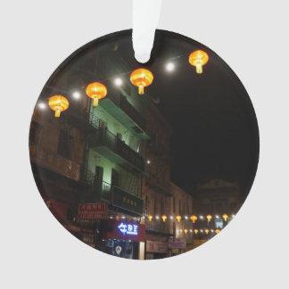San Francisco Chinatown Lanterns #3 Ornament