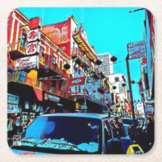 San Francisco Chinatown Paper Coaster