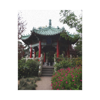 San Francisco Chinese Pavilion Canvas Canvas Print