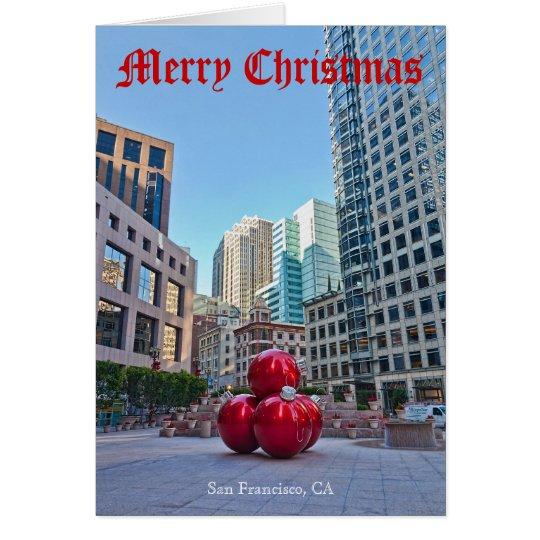 SAN FRANCISCO CHRISTMAS #2A CARD