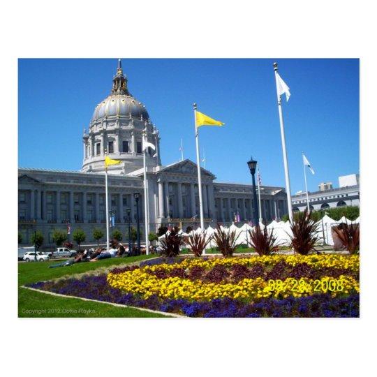 San Francisco City Centre Postcard