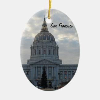 San Francisco City Hall Christmas Ornament