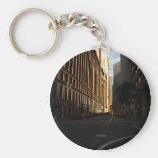 San Francisco City Intersection Keychains