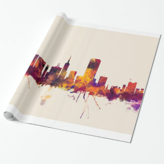 San Francisco City Skyline Wrapping Paper