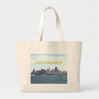 San Francisco City View from the Bay Tote Bags