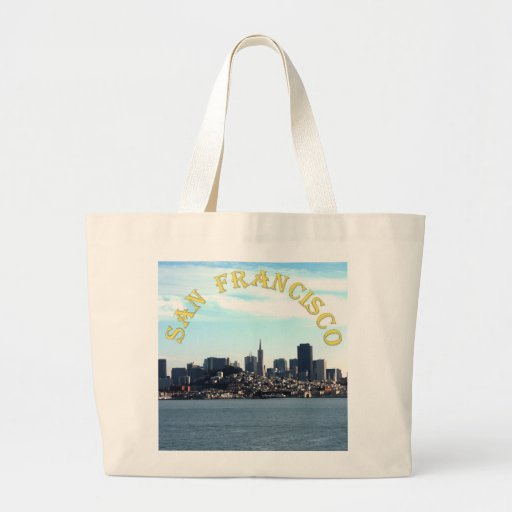 San Francisco City View from the Bay Bag