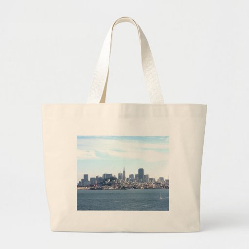 San Francisco City View from the Bay Tote Bag