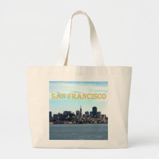 San Francisco City View from the Bay Canvas Bags