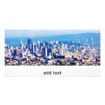 San Francisco City View Panoramic Customised Photo Card