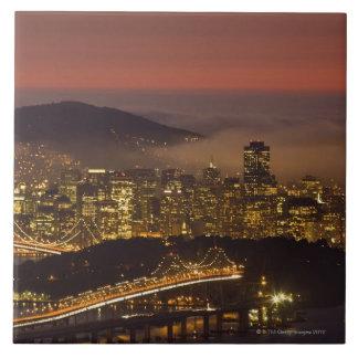 San Francisco Cityscape Tile