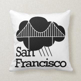 San Francisco Cloudy Bridge Cushion