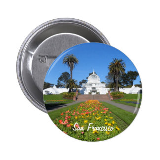 San Francisco Conservatory of Flowers Pinback Button