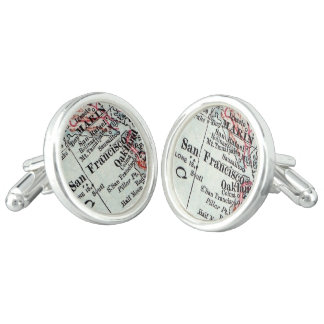 San Francisco Cuff Links, Husband Gift Cuff Links