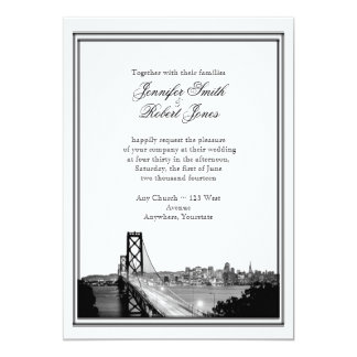 San Francisco Destination Wedding Invitation