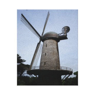 San Francisco Dutch Windmill Canvas