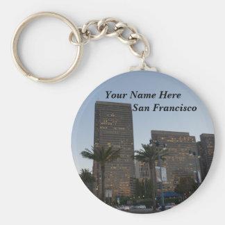 San Francisco Embarcadero #3 Keychain