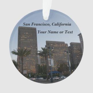 San Francisco Embarcadero #3 Ornament