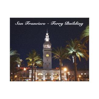 San Francisco Ferry Building #6 Canvas