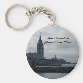San Francisco Ferry Building #8 Keychain