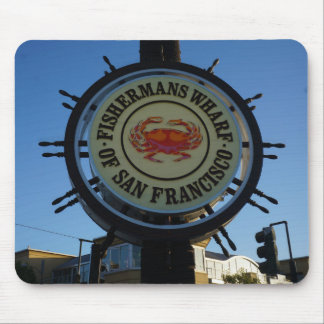 San Francisco Fishermans Wharf Mousepad