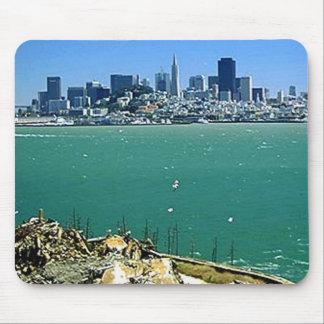 San Francisco from Alcatraz Mouse Pad