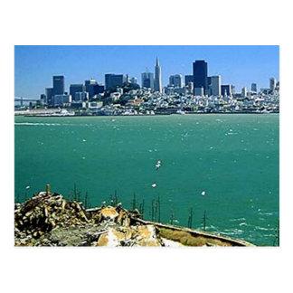 San Francisco from Alcatraz Postcard