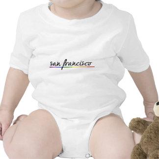 SAN FRANCISCO GAY PRIDE -.png Baby Bodysuit