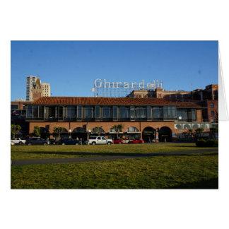 San Francisco Ghirardelli Square #2 Card