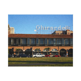 San Francisco Ghirardelli Square Canvas