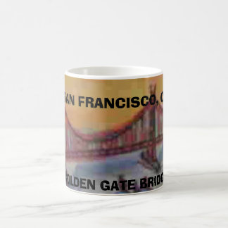 SAN FRANCISCO,GOLDEN GATE BRIDGE COFFEE MUG