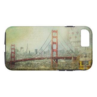 San Francisco Golden Gate Bridge Collage Case