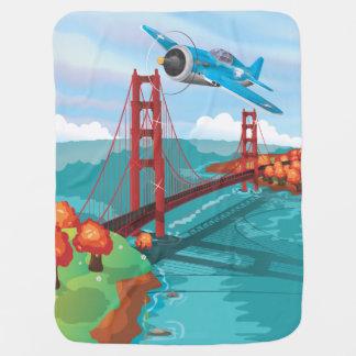 San Francisco Golden Gate Bridge fly past Buggy Blanket