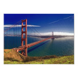 San Francisco Golden Gate Bridge 13 Cm X 18 Cm Invitation Card