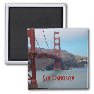San Francisco, golden gate bridge Magnet
