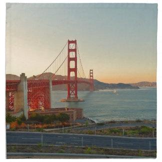 San Francisco Golden Gate Bridge Napkin