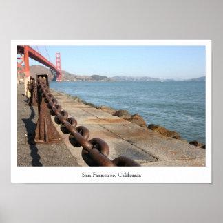 San Francisco Golden Gate Bridge Photo Poster