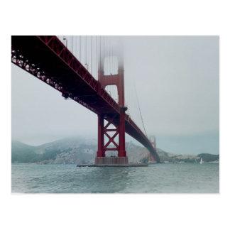 San Francisco Golden Gate Bridge - Postcard