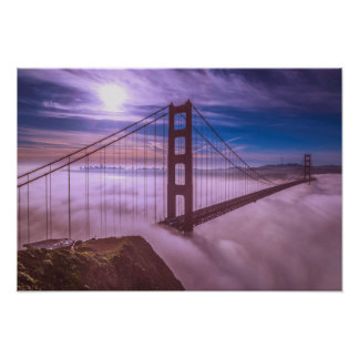 San Francisco - Golden Gate Bridge Poster