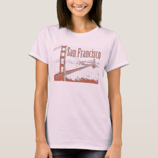 SAN FRANCISCO GOLDEN GATE BRIDGE SHIRTS