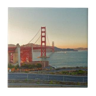 San Francisco Golden Gate Bridge Tile